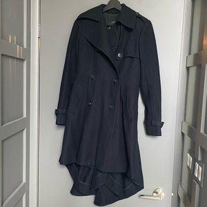 All Saints Dark Navy Victorian-style Jacket *rare*